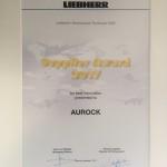 Aurock Récompensé Par Liebherr Aerospace Dans La Catégorie Innovation