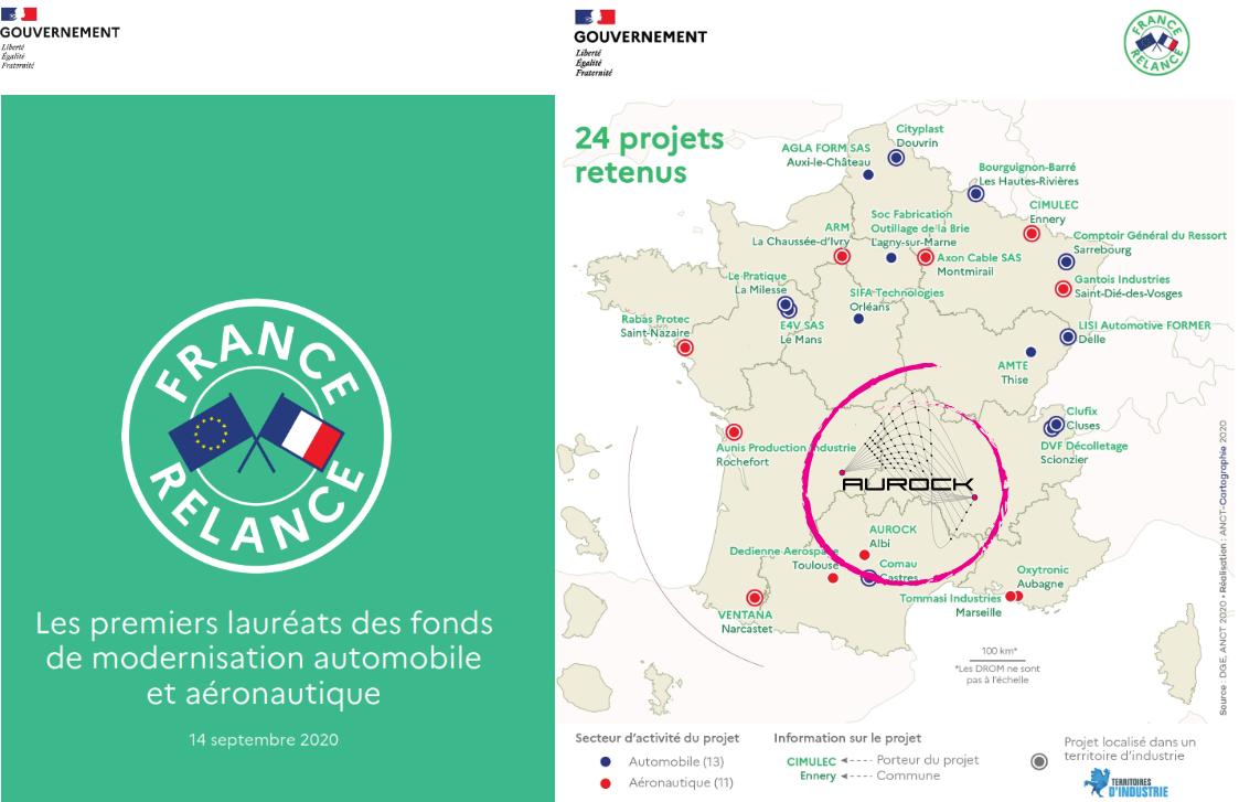 Aurock Laureat Plan Relance Aéro